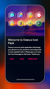 Oranux - Icon Pack Screenshot