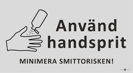 Etikett Använd Handsprit