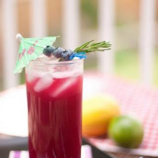 Rosemary Blueberry Paleo Lemonade.