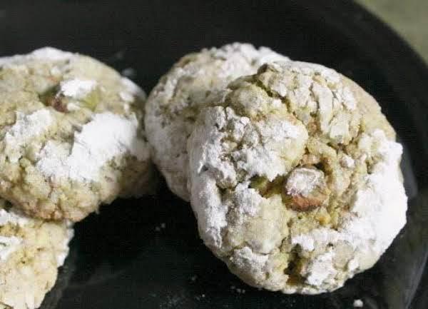 Pistachio Rosewater Ghriba (cookies) Recipe