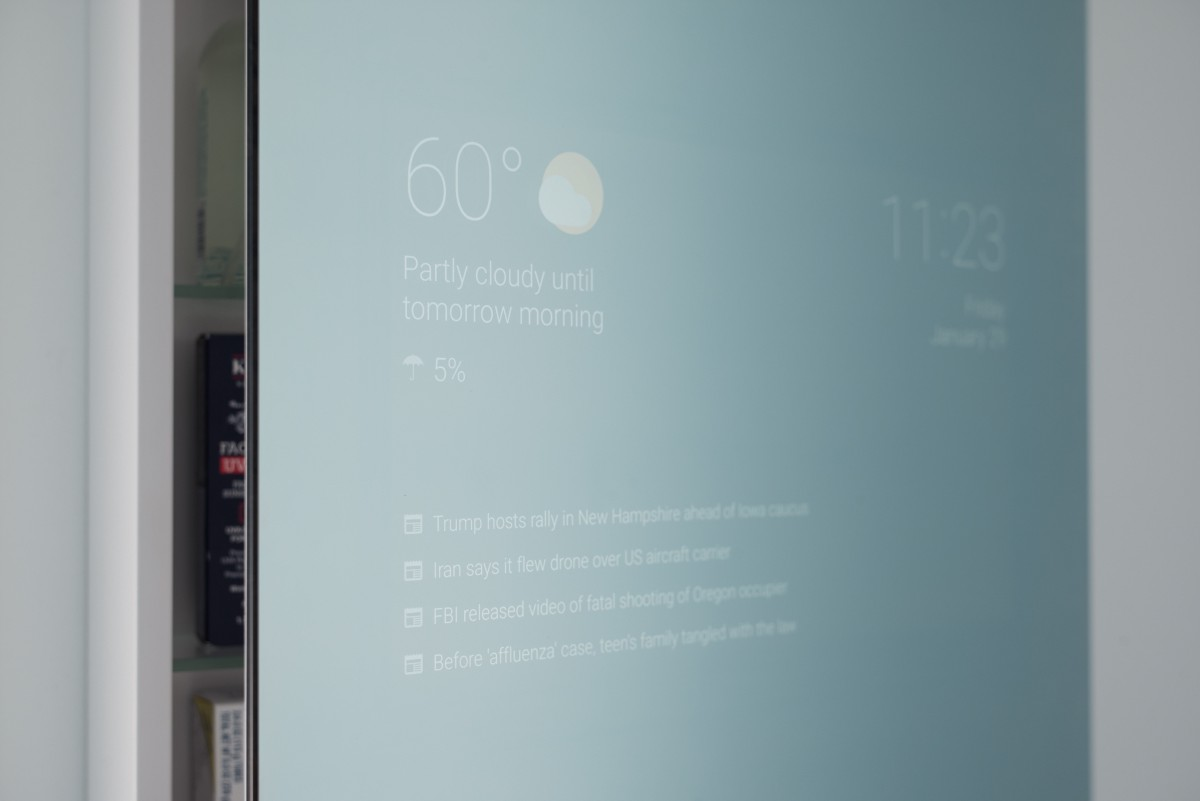 . Android Experiments   Smart Mirror by Max Braun