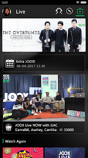 JOOX Music - Live Now!- gambar mini screenshot