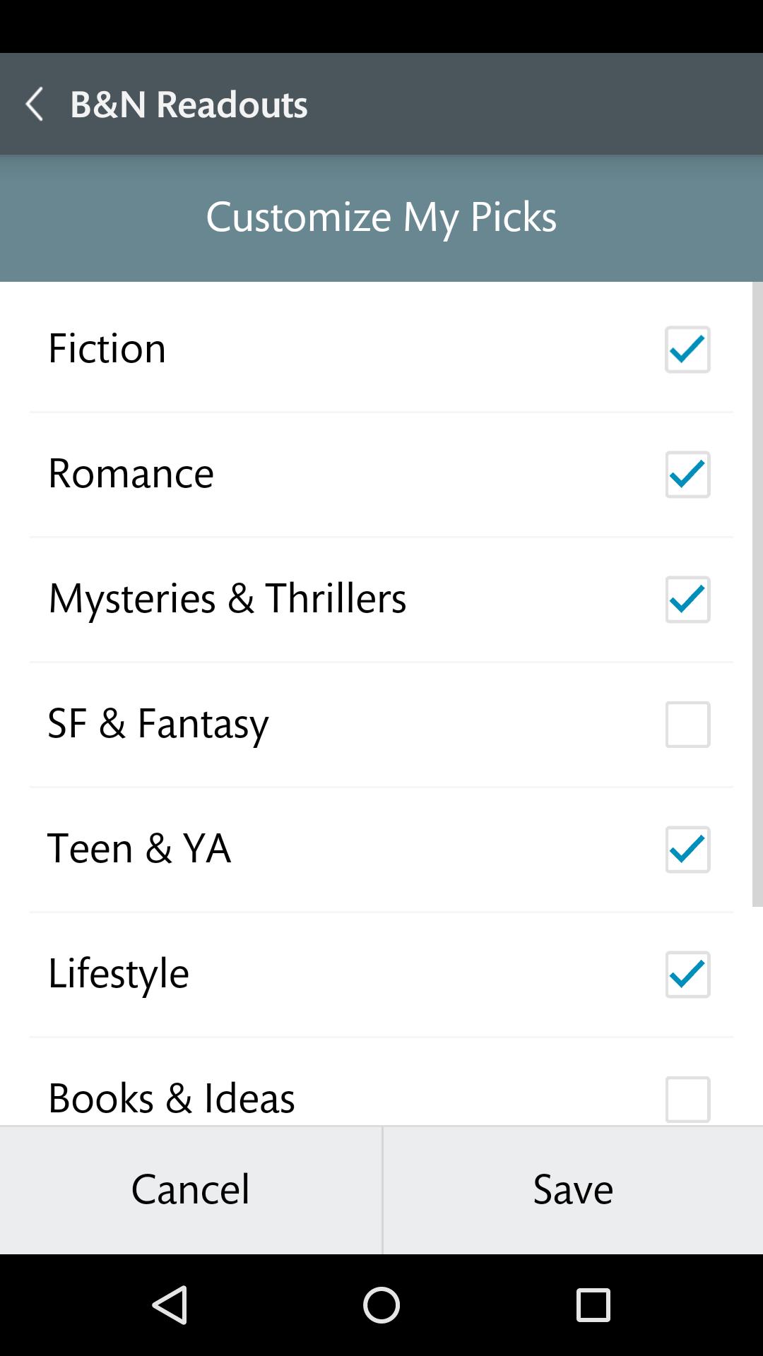 NOOK: Read eBooks & Magazines screenshot #6