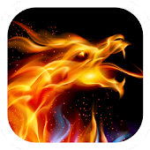 Flaming Dragon Theme