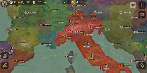 Great Conqueror: Rome Mod Apk 2.0.0 (Unlimited Medals) 1