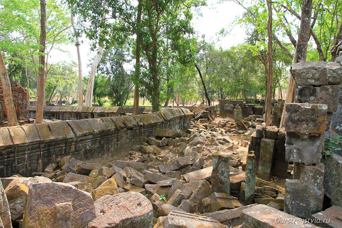 Древняя столица кхмеров - Кох Кер