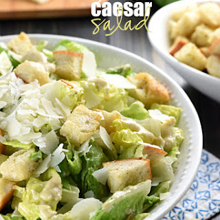 Caesar Salad With Anchovies Recipes
