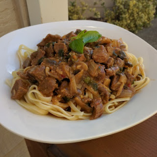 Spicy Beef Stroganoff With A Twist