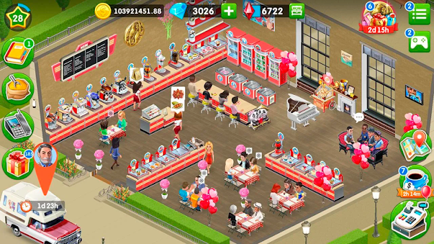 Coffee Shop: Cafe Business Sim apk screenshot