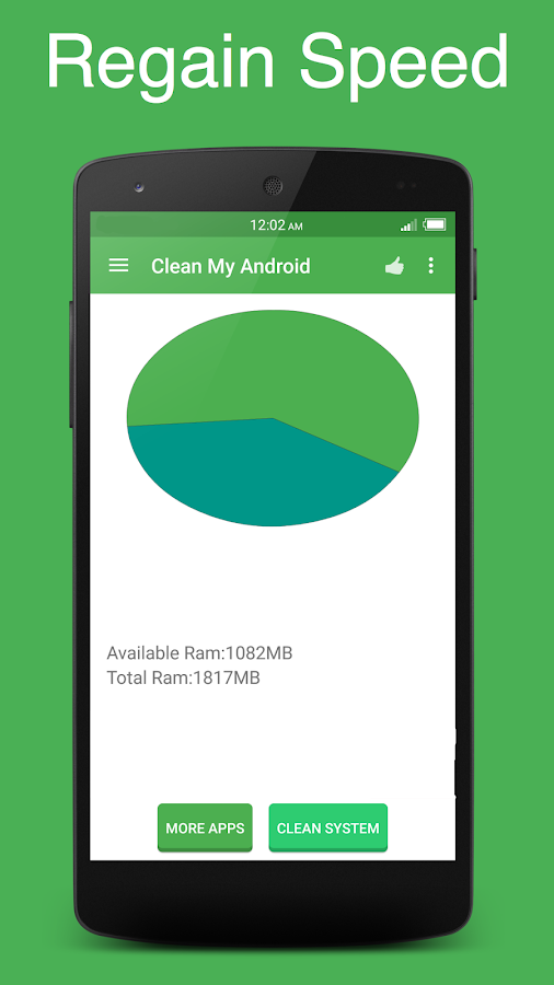 Clean My Android - screenshot