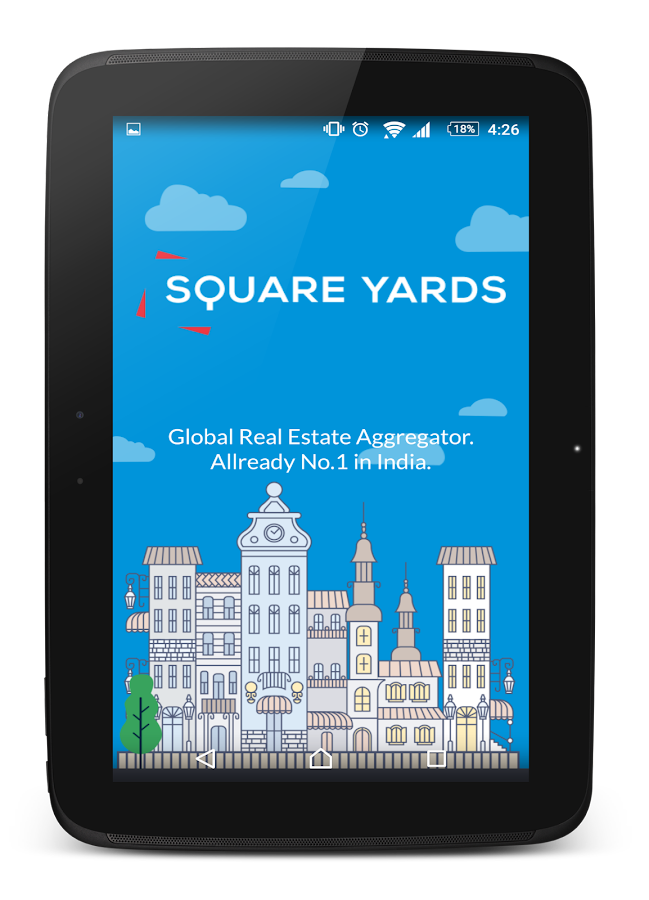 SquareYards Indian Real Estate- screenshot