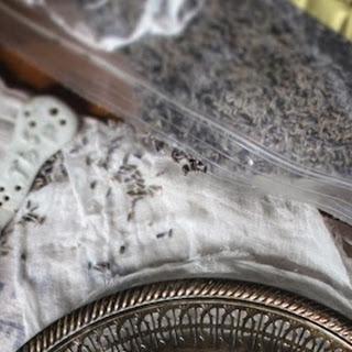 Lavender White Chocolate Almond Truffles