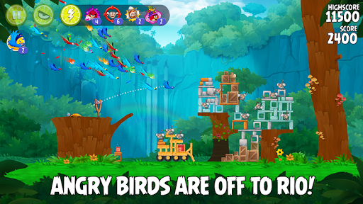 Angry Birds Rio 2.6.11 Cheat screenshots 1