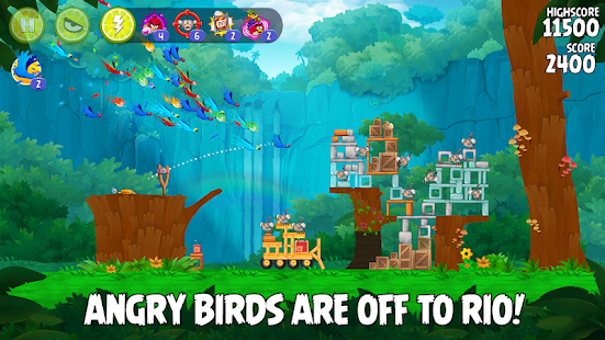 ApkMod1.Com Angry Birds Rio + (free purchases) for Android Arcade Game