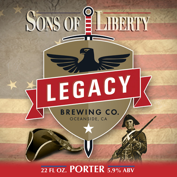 Logo of Sons of Liberty Porter