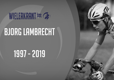 Overlijden Bjorg Lambrecht het donkerste wielermoment van 2019