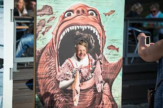 Photo: Festivaaliteltan ulkopuolelta löytyi kaikkea hauskaa lapsille ja lapsenmielisille