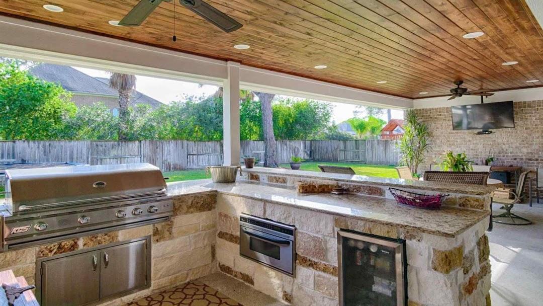 Orlando Outdoor Kitchen Designs - Orlando Outdoor Kitchens ...