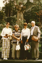 Photo: Dad and Mother took Carol and me to Mexico in 1973.  Note the ever-present camera bag.