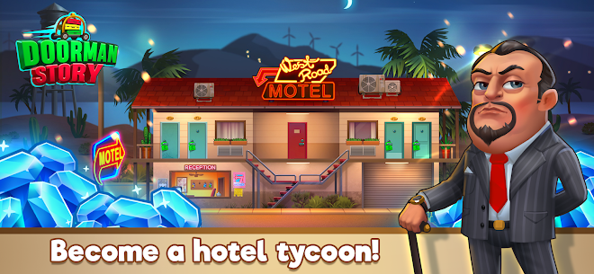 Doorman Story: Hotel team Tycoon Mod Apk (Unlimited Gold + Diamonds) 4