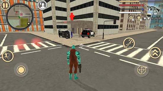 Download Stranger Spider Rope Hero Vice Town Crime For PC Windows and Mac apk screenshot 2