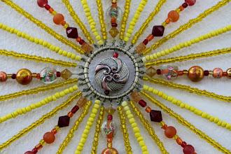 Photo: SUNSHINE - Detail  Glass beads