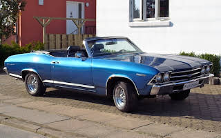 Chevrolet Chevelle Rent Nordjylland