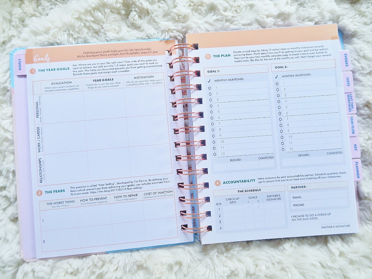 Design Your Life Planner 2019 Review 04