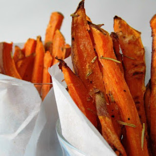 Rosemary Cayenne Sweet Potato Fries
