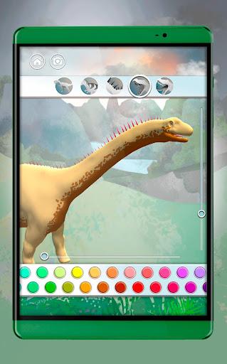 Dinosaurs 3D Coloring Book apkslow screenshots 9