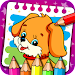 Coloring & Learn Animals - Kids Games icon
