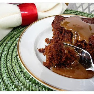 De-Light-Ful Gingerbread With Butterscotch Sauce