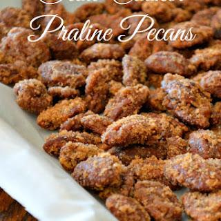 Crock-Pot Praline Pecans