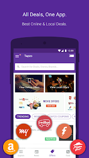 Tapzo: Cabs, Food, Recharge- screenshot thumbnail