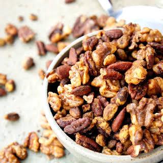 Southwestern Roasted Christmas Nuts.