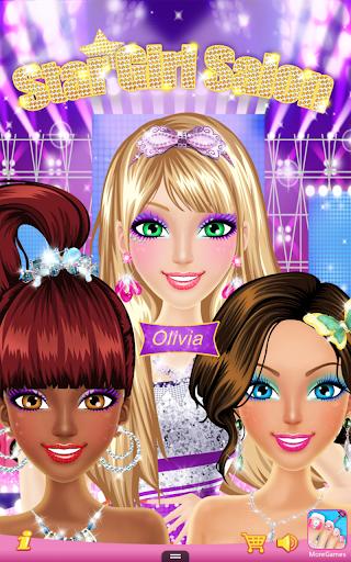 Télécharger Star Girl Salon  APK MOD (Astuce) screenshots 1
