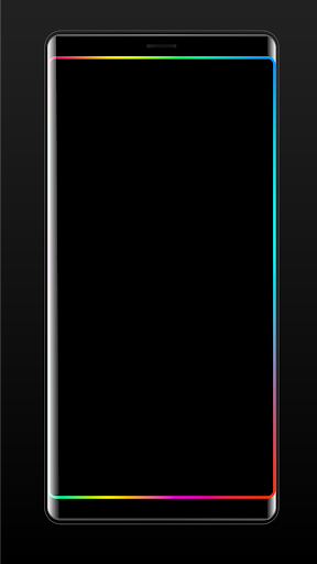 Edge Lighting Colors - Round Colors Galaxy 6.0 screenshots 3