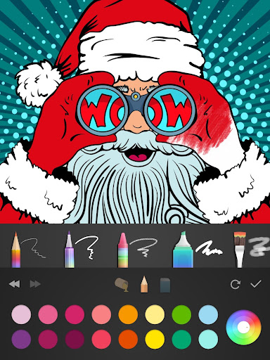 2018  Christmas Coloring Book 2.9.2 screenshots 6