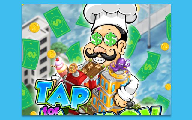 Tap For Money Restaurant Game