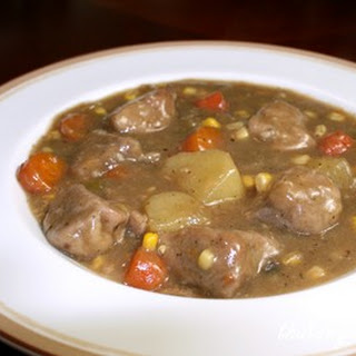 Pork Tenderloin Stew.