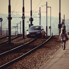 by Mick Greaves - Transportation Railway Tracks (  )