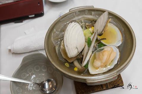 台物 白貝のガーリックバター焼き