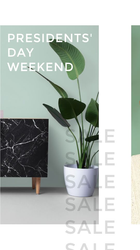 President's Day Weekend Sale - Facebook Story Template