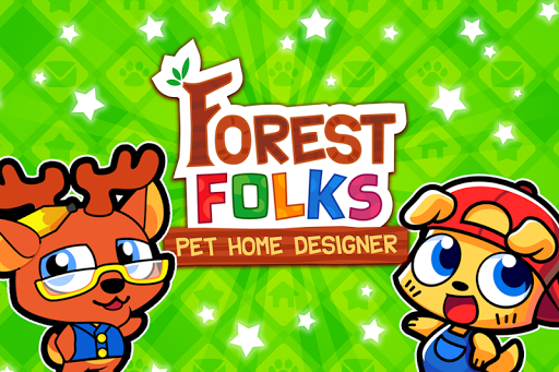 Forest Folks - Cute Pet Home Design Game 1.0.4 screenshots 5
