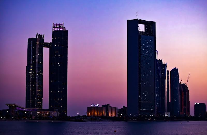 Dubai, late sunset di FrancescoPaolo