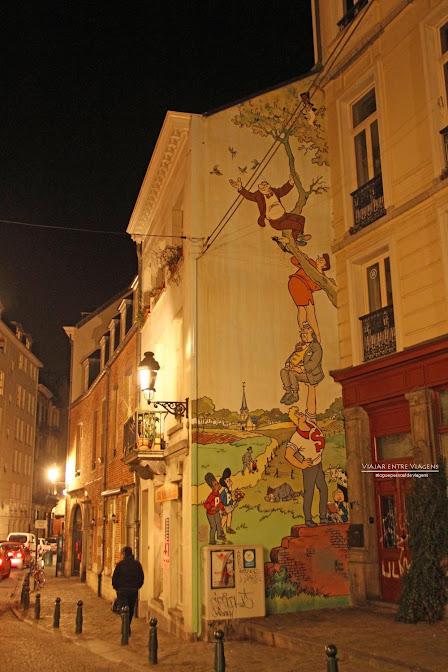 Banda Desenhada em Bruxelas