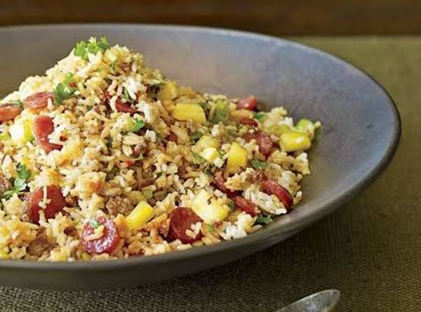 Pork & Pineapple Fried Rice Recipe