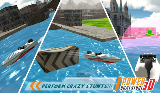 Speed Boat Racing Stunt Mania game (apk) free download for Android/PC/Windows screenshot