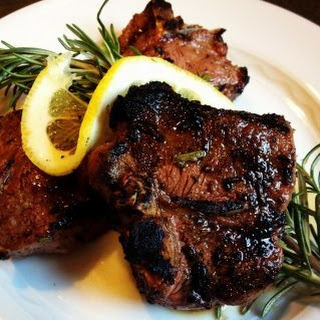 Garlic Rosemary Lamb Chops Recipe