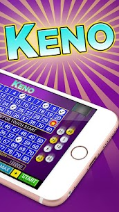 Keno FREE – Keno Offline Las Vegas Games and Bonus 1.1.0 Mod APK Download 2